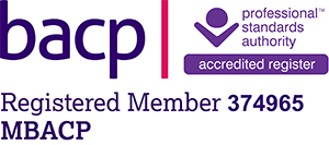 BACP logo - Claire Anderson