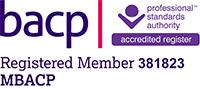 Registered BACP member 381823