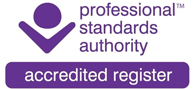 accredited register, Professional Standards Authority logo
