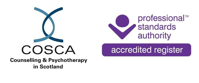 COSCA member logo and PSA accreditation mark