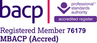 Anne Davie is an accredited member of the BACP