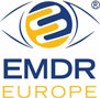 accredited by EMDR Europe logo