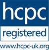 Registered with the Health and Care Professions Council